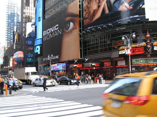 Broadway, Manhattan, NY , foto Barão