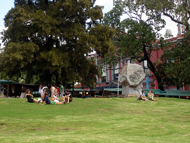Plaza Francia, bairro de la Recoleta, Buenos Aires