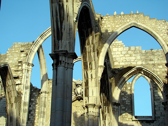Ruínas do Carmo, Lisboa