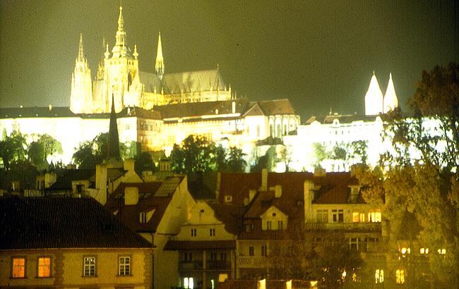 A noite em Praga, Republica Tcheca