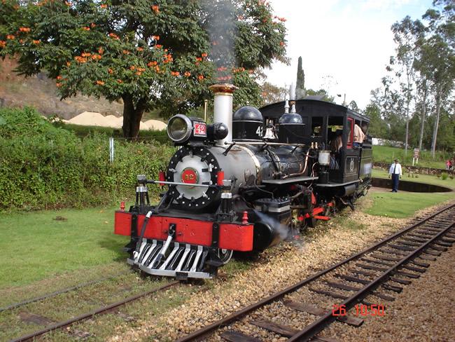 Maria Fumaça, trem que liga São João del Rey a Tiradentes