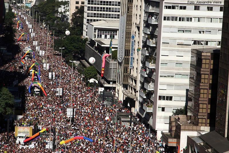 Parada do Orgulho LGTB, São Paulo