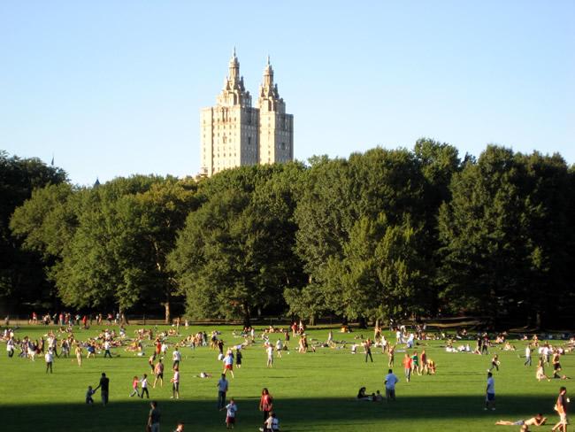 Central Park, em Uptown, New York