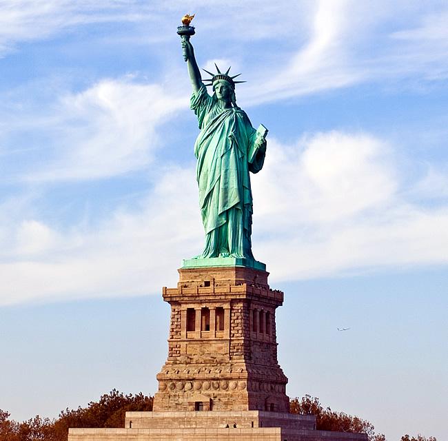 Estátua da Liberdade, histórias