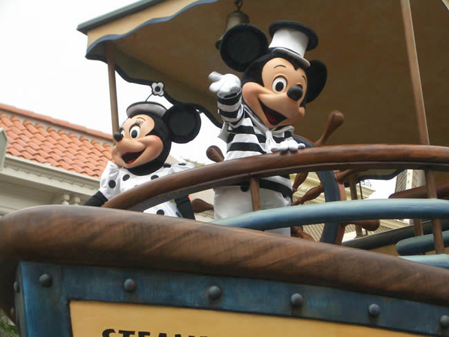 Mickey, Disneyland Paris