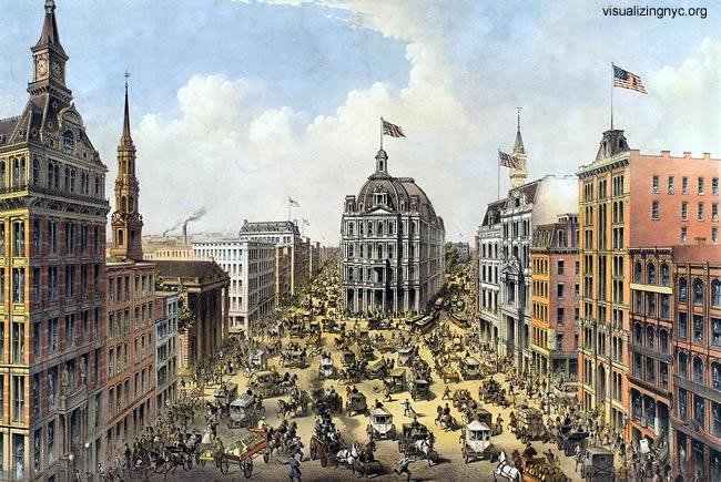 New York, Século XIX