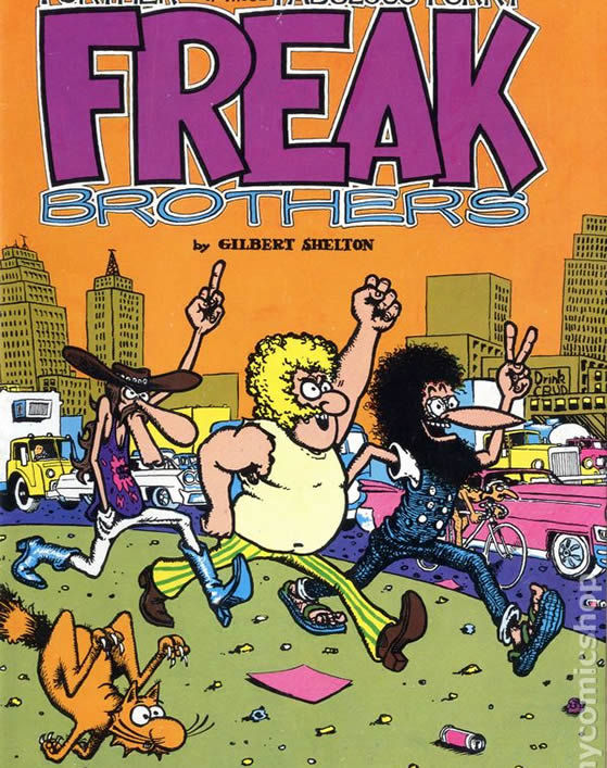 Freaks Brothers comics