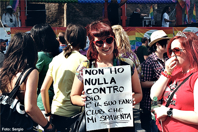 Itália, Gay Pride - Foto Sergio CCBY