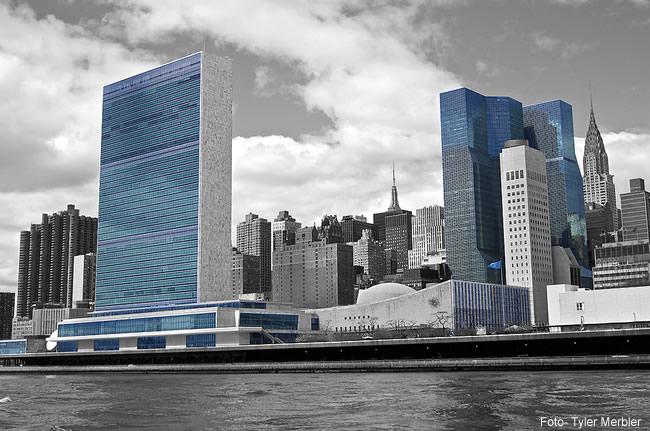 Sede da ONU em New York- Foto Tyler Merbler CCBY