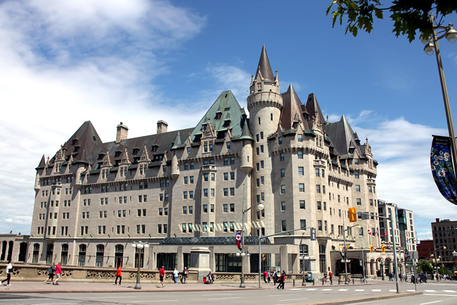 Ottawa, Château Laurier, foto Rick Ligthelm CCBY