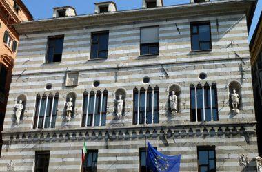 Arquitetura típica, Gênova, Itália