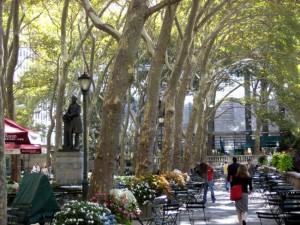 Bryant Park, NY York