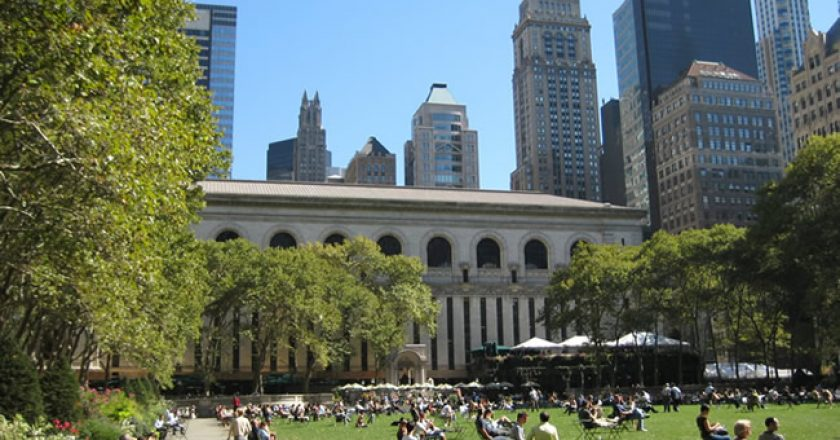 Bryant Park, Manhattan, New York