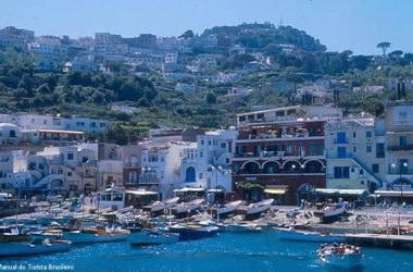 Capri, sul da Itália
