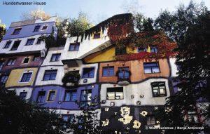 Hundertwasser House, Viena, Áustria