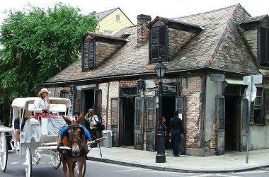 Bourbon Street, New Orleans, Lobberich