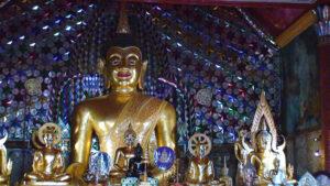 Santuário no Wat Pra Keo, Bangkok