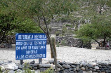 Cidadela dos índios quilmes, norte da Argentina