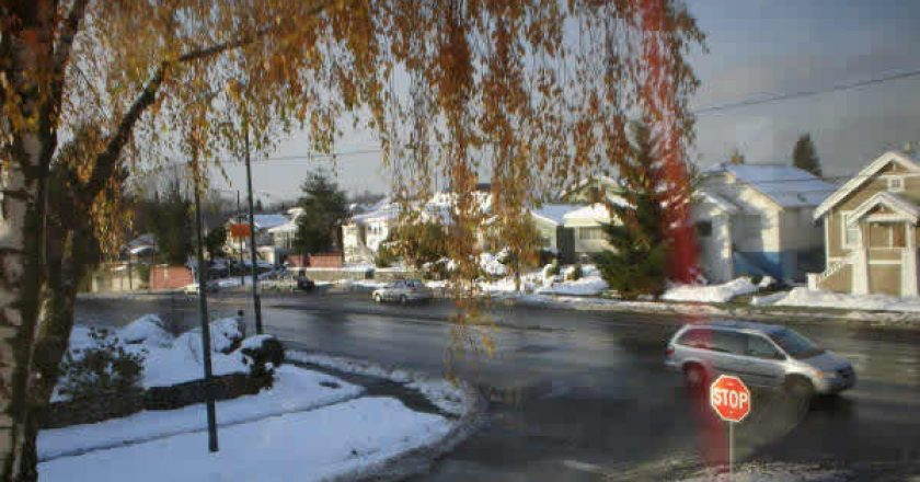 Inverno em Vancouver, no Canadá