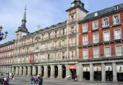 Plaza Mayor, no centro de Madri