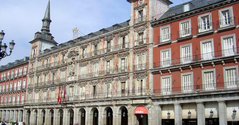 Plaza Mayor, no centro de Madri