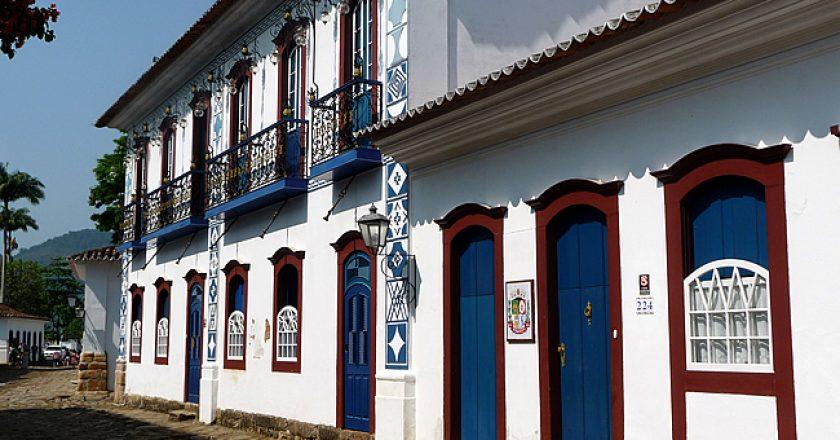 Paraty, casas coloniais