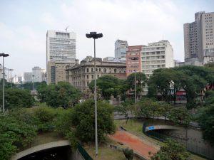 Vale do Anhangabaú, em São Paulo