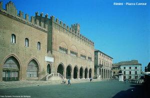 Rimini. Piazza Cavour, Itália