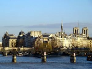 França, Paris Île de la Cité no final do outono