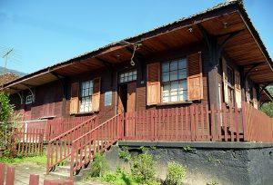 Paranapiacaba, casa de madeira