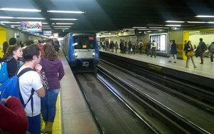Metrô em Santiago, Chile