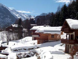 França, Alpes no inverno, foto de Francisco Gonzale