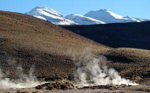 Gêiser no Altiplano Chileno, Deserto do Atacama