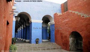 Mosteiro de Santa Catalina, em Arequipa, Peru