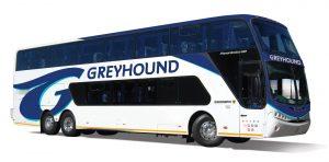 Ônibus da Greyhound, nos Estados Unidos