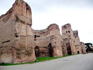 Ruínas das termas de Caracala, Roma