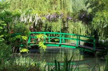 Ponte japonesa, Jardin de Claude Monet - fundation Monet